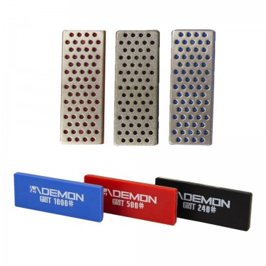 Demon United Ski and Snowboard Diamond  Edge Files- 3 pack- Can be used with Demon's Elite X Side Edge Tool