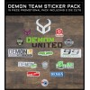 Demon Team Visor - For Podium Helmet
